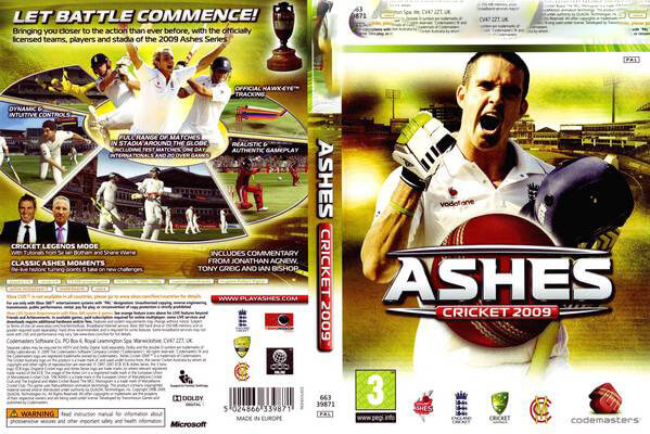 Ashes Cricket 2009 PC Game Download