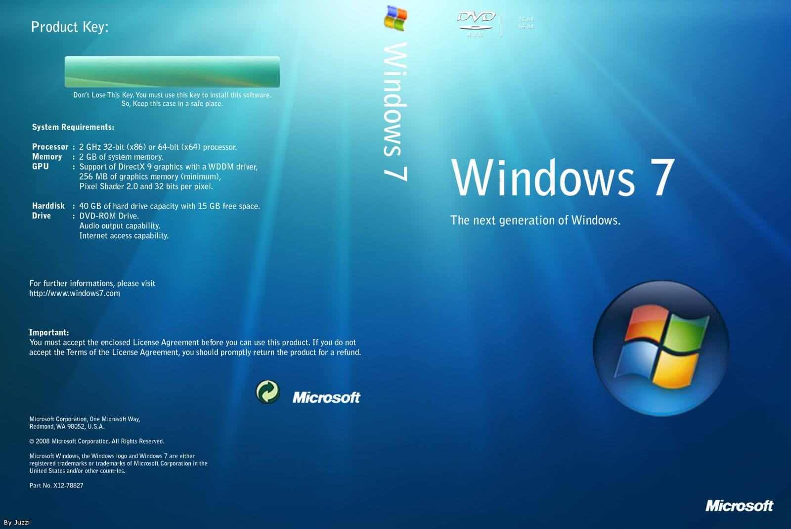 Windows 7 Ultimate 32 Bit 64 Bit Download Full Version on windows vista ultimate product key