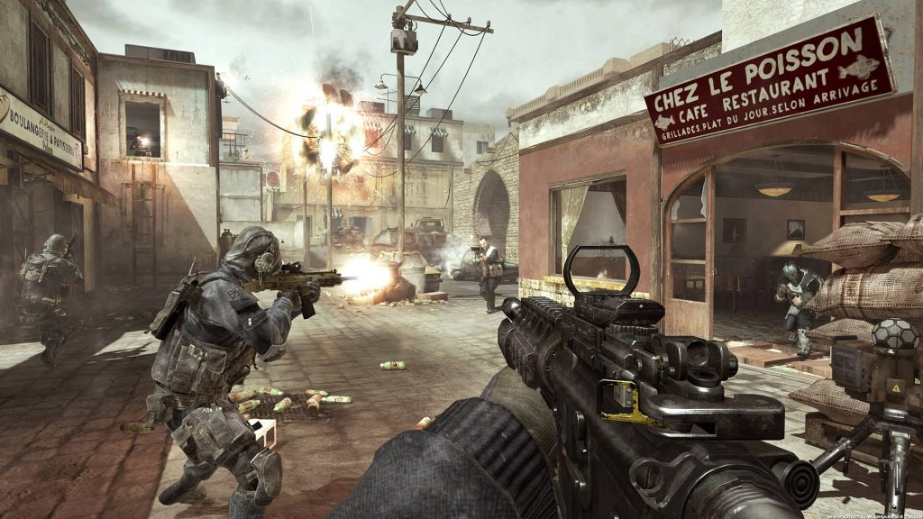 Call of Duty Advanced compress game