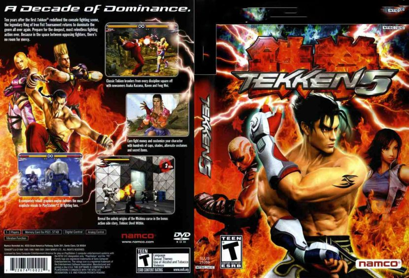 Tekken 5 PC Games Free Download Full Version