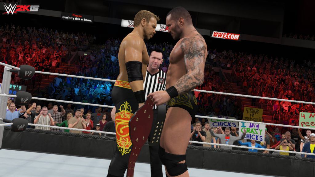 wwe raw smackdown game