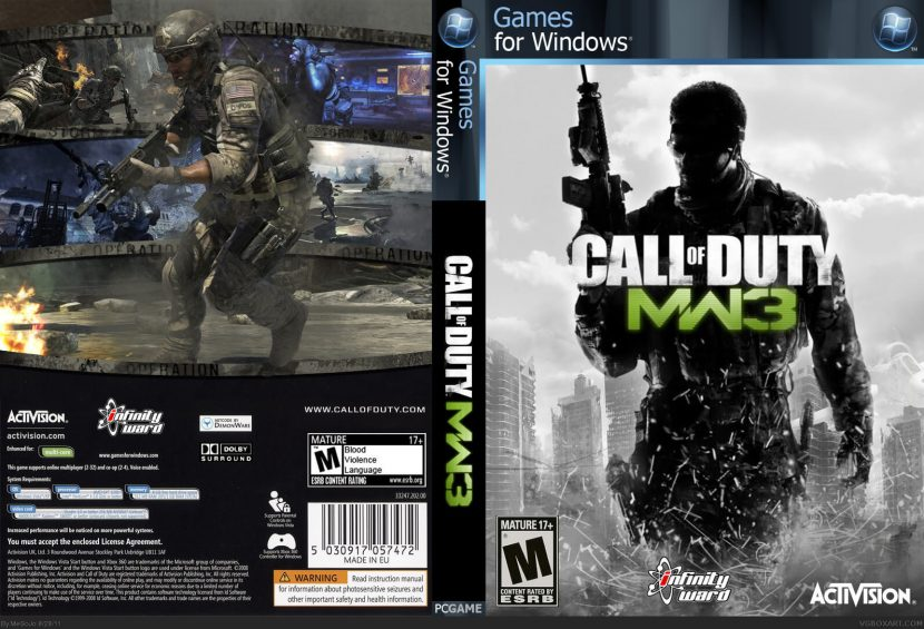 Call Of Duty Modern Warfare 3 Pc Game Download Full Version Iso Free