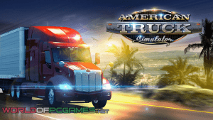American Truck Simulator 2016 Free Download Latest PC Game By Worldofpcgames
