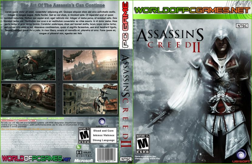 Assassins Creed 1 Free Download PC Game Cover By Worldofpcgames.net