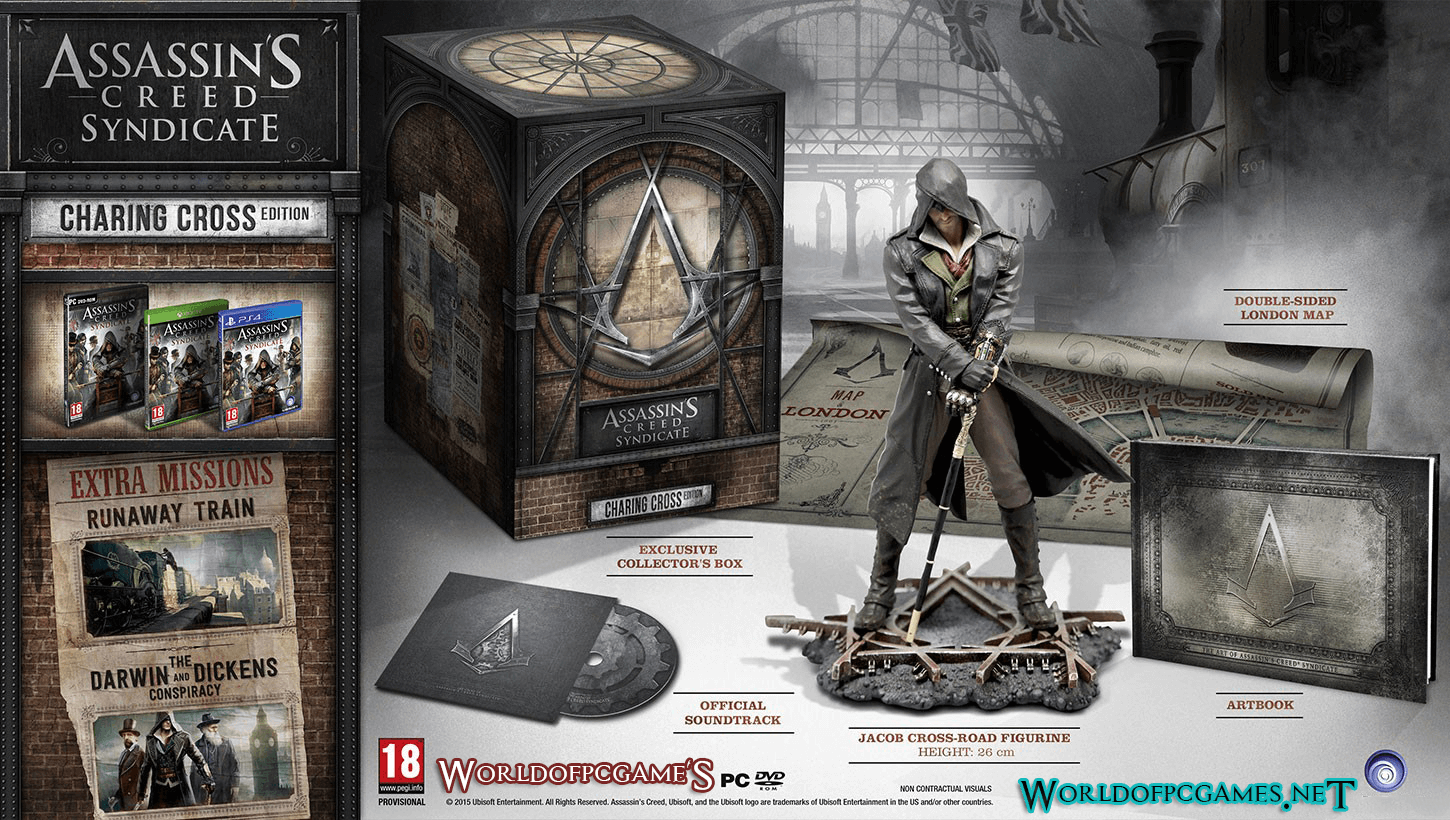 Assassins Creed Syndicate Free Download PC Game ISO