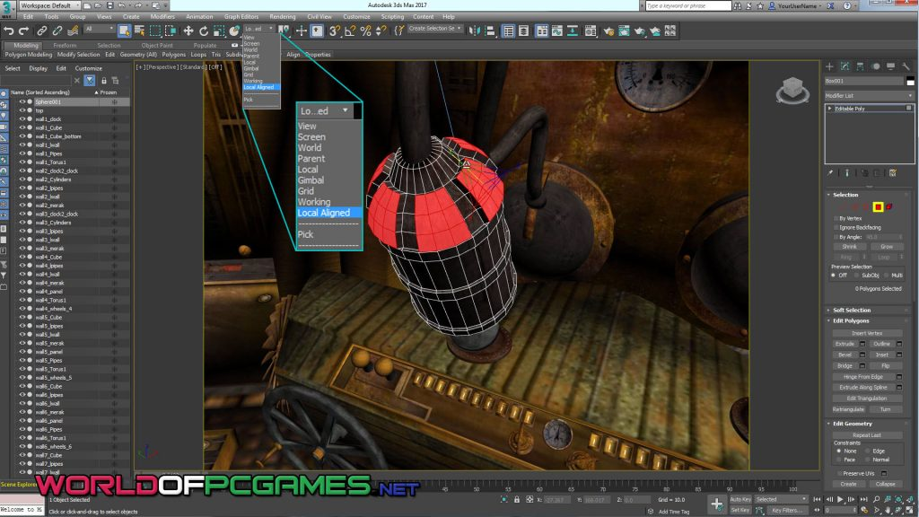 Autodesk 3DS Max 2017 Free Download Full Version By Worldofpcgames.net