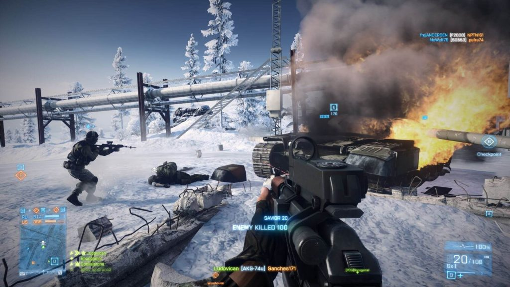 Battlefield 3 Free Download PC Game ISO By Worldofpcgames.net