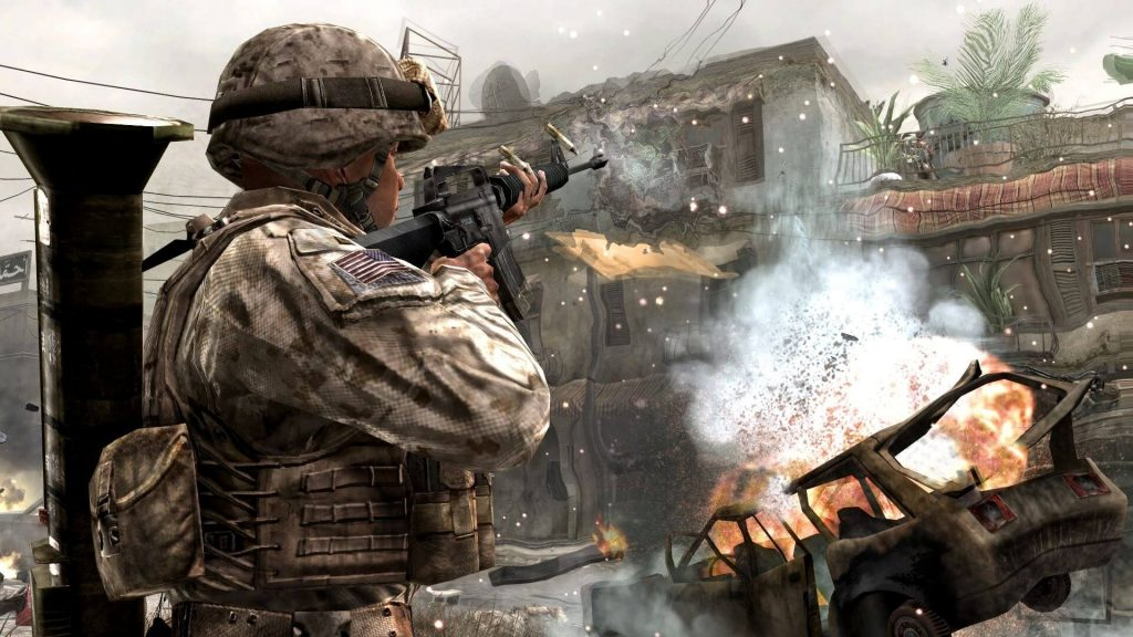 call of duty 4 modern warfare free pc version