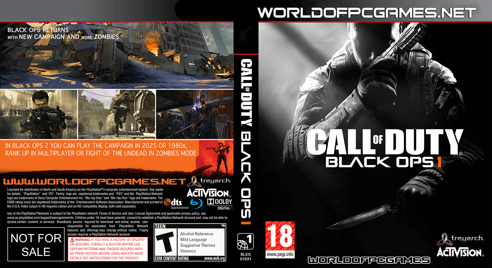 Call Of Duty Black Ops 1 Free Download PC Game Full Version ISO