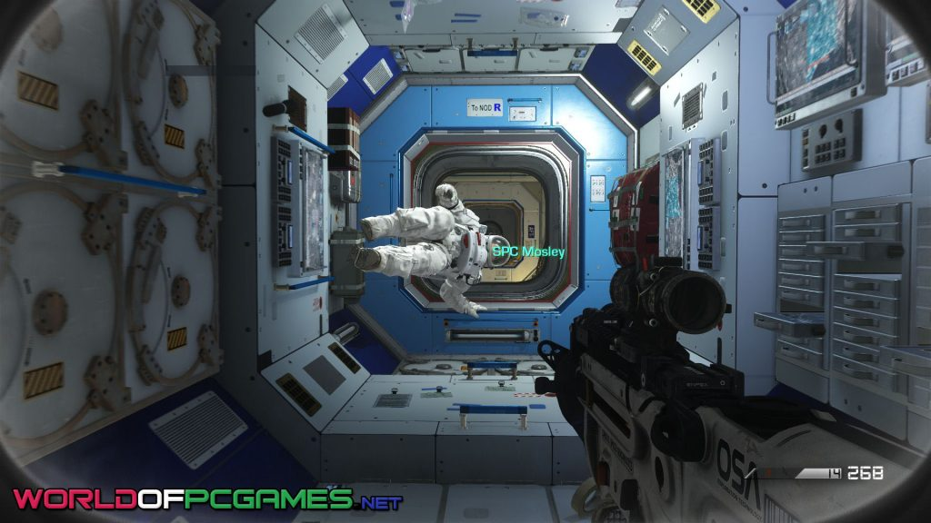 Call Of Duty Ghosts Free Download PC Game Cover By Worldofpcgames.net