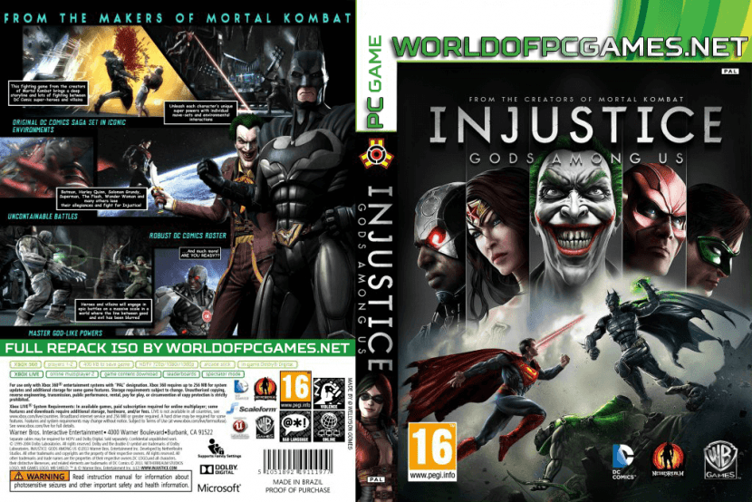 Injustice Gods Among Us Free Download PC Game By Worldofpcgames.netInjustice Gods Among Us Free Download PC Game By Worldofpcgames.net