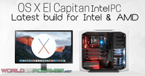 Mac OS X El Capitan Free Download For PC Intel USB Bootable By Worldofpcgames.net