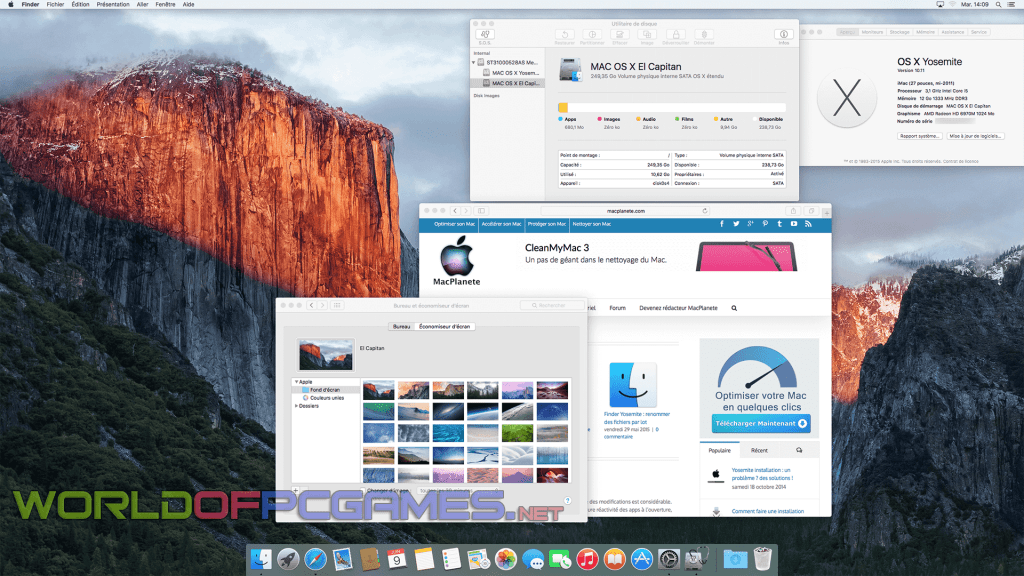 Mac OS X El Capitan Free Download ISO DMG 10.11.1 InstallESD By Worldofpcgames.net