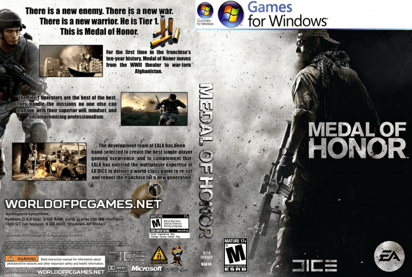 Medal Of Honor 2010 Free Download PC Game By Worldofpcgames.net
