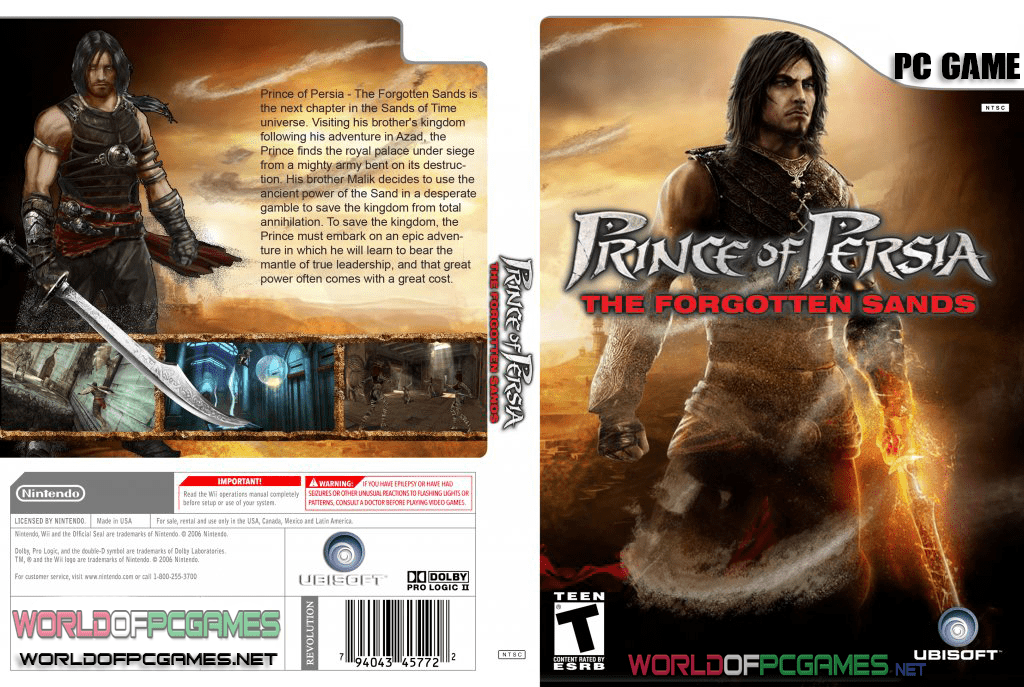 Prince Of Persia The Forgotten Sands Free Download Full Version PC
