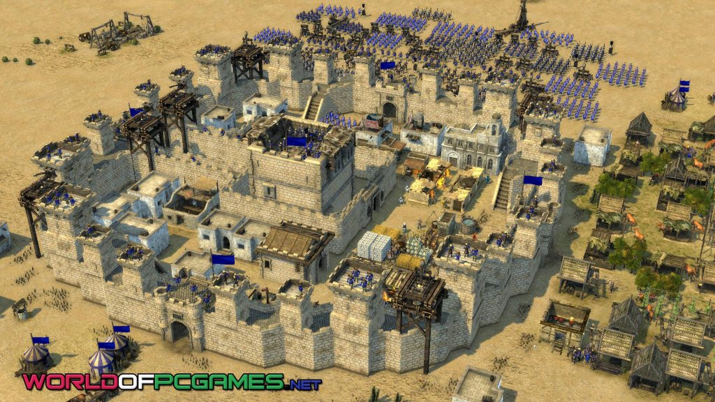 Stronghold Crusader Free Download PC Game By Worldofpcgames.net