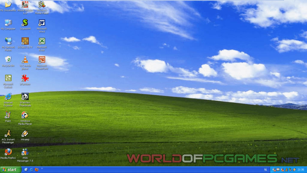 Windows XP Professional SP3 Free Download Latest Full ISO Bootable By Worldofpcgames.net