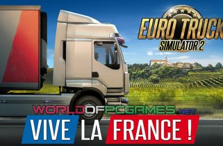 Euro Truck Simulator 2 Vive La France PC Game Download Free