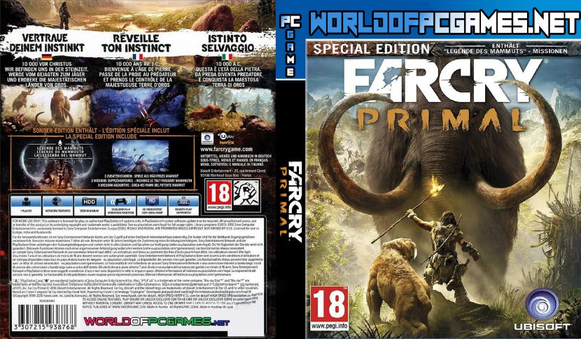 Far Cry Primal Free Download PC Game By VirtualWorld Geek