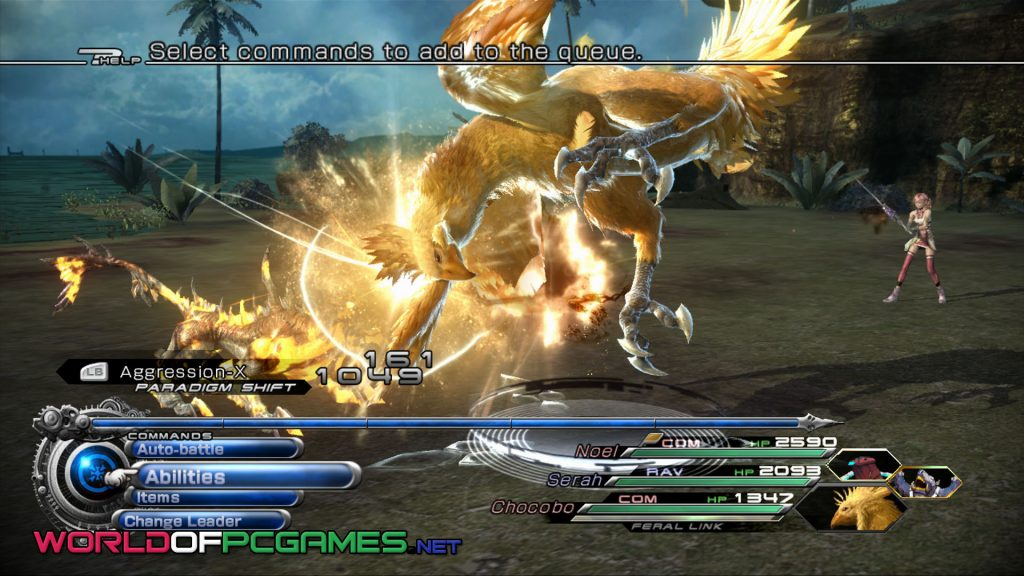 Final Fantasy XIII 2 Free Download PC Game By Worldofpcgames.net