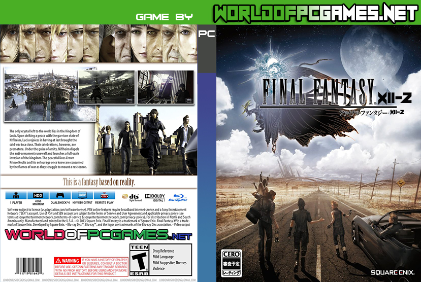 Final Fantasy XIII 2 Free Download PC Game Full Version