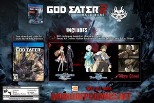 God Eater 2 Rage Burst Free Download PC Game By Worldofpcgames.net