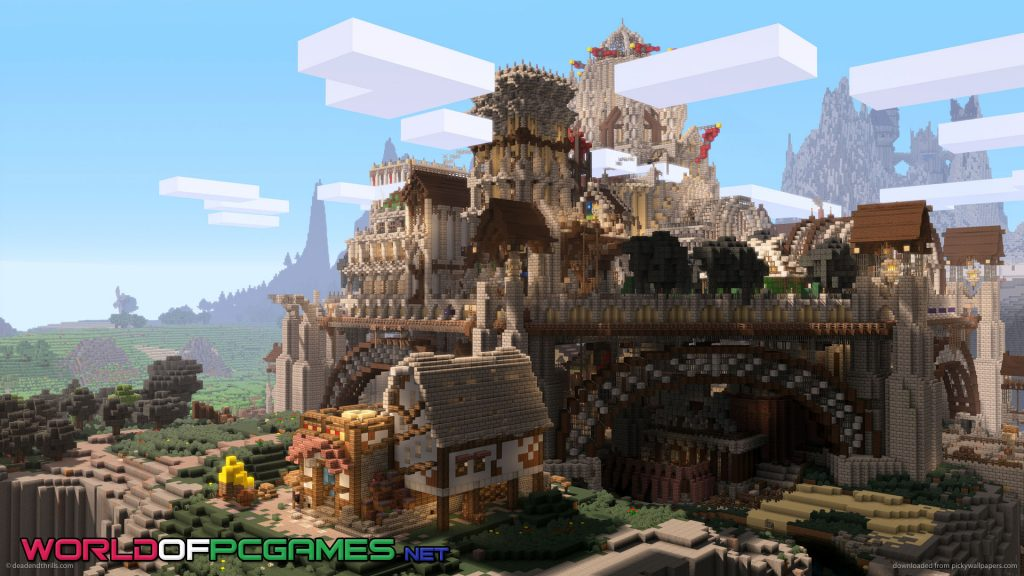 Minecraft Free Download PC Game By Worldofpcgmaes.net