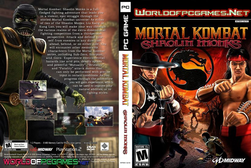 Mortal Kombat Shaolin Monks Free Download PC Game By Worldofpcgames.net