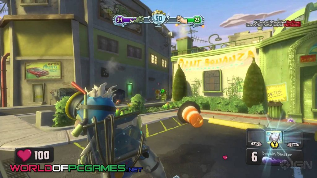 Plants VS Zombies Garden Warfare Free Download PC Game By WOrldofpcgames.net