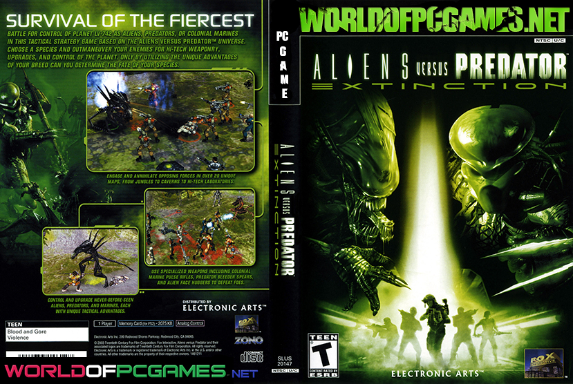 Aliens VS Predator Free Download PC Game By Worldofpcgames.net