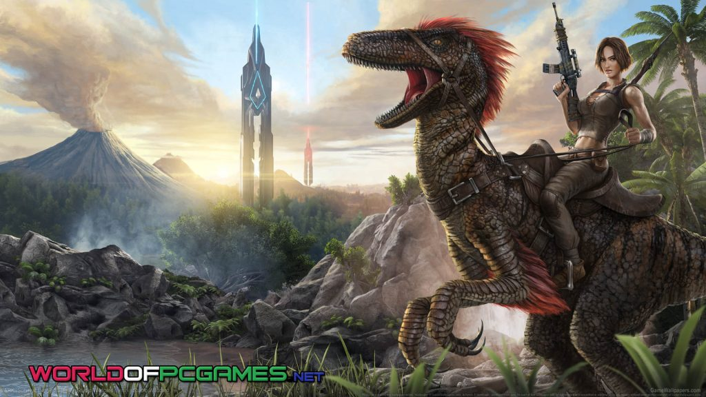 Ark Survival Evolved Free Download PC Game By Worldofpcgames.net