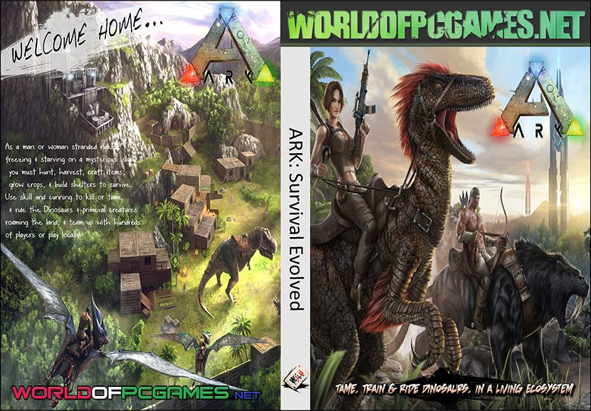 Ark Survival Evolved Free Download Multiplayer PC Repack