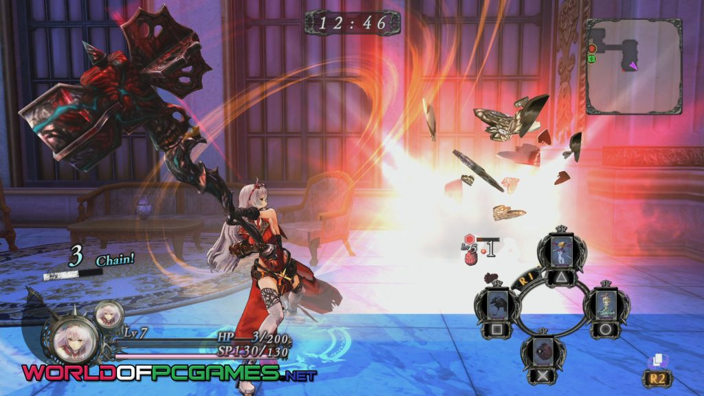 Nights Of Azure Free Download PC Game By Worldofpcgames