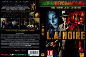 L.A Noire Free Download PC Game By Worldofpcgames.net