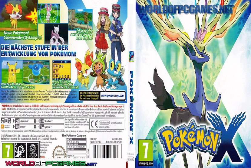Pokemon X Free Download PC Game By Worldofpcgames.net