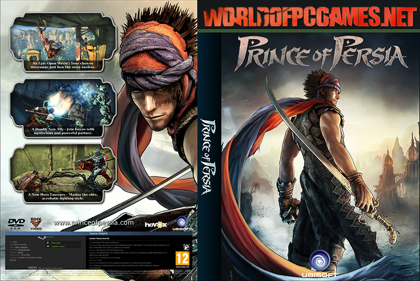 Prince Of Persia Free Download PC Game By Worldofpcgames.net