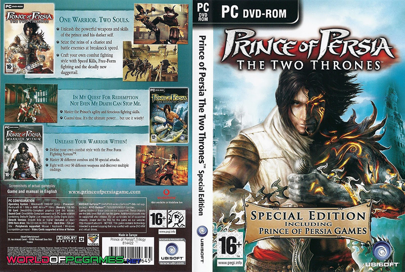 prince of persia the two thrones pc game setup free download