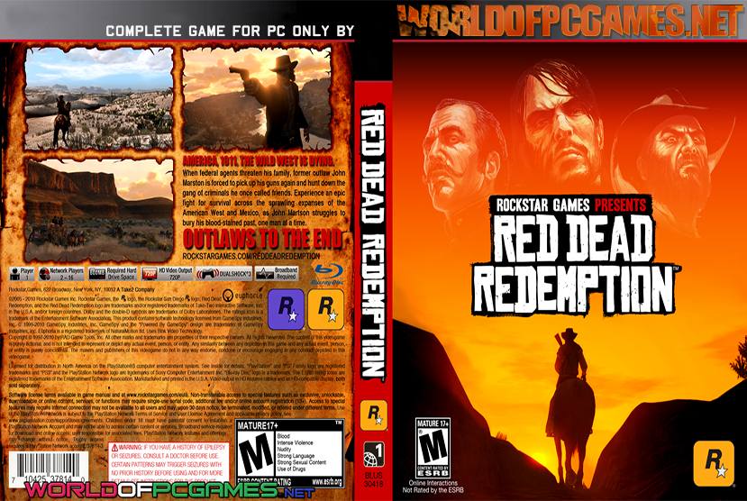 download red dead redemption pc free