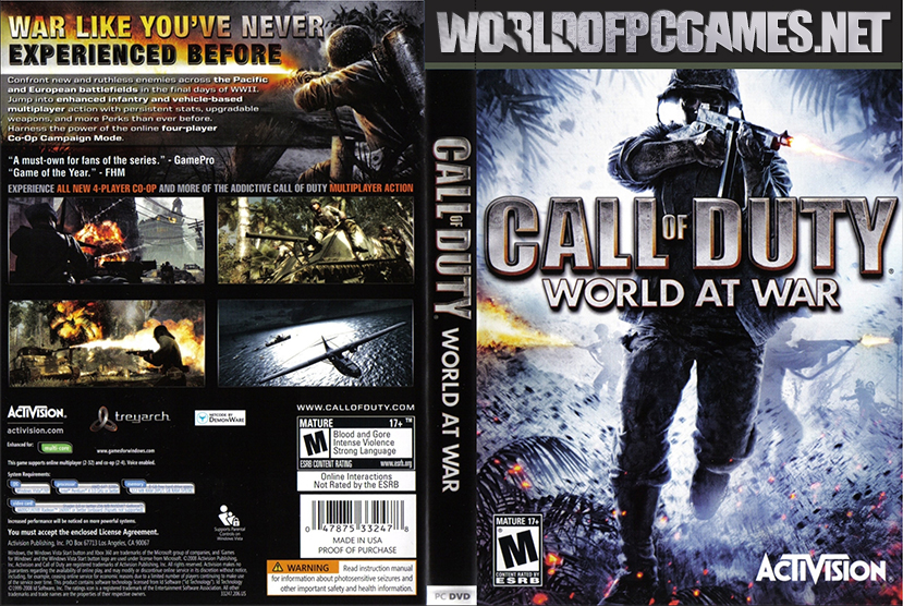 Call Of Duty World At War Free Download Latest Repack