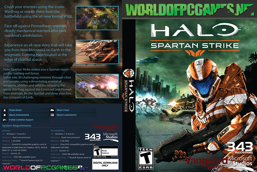 Halo Spartan Strike Free Download PC Game By Worldofpcgames.net