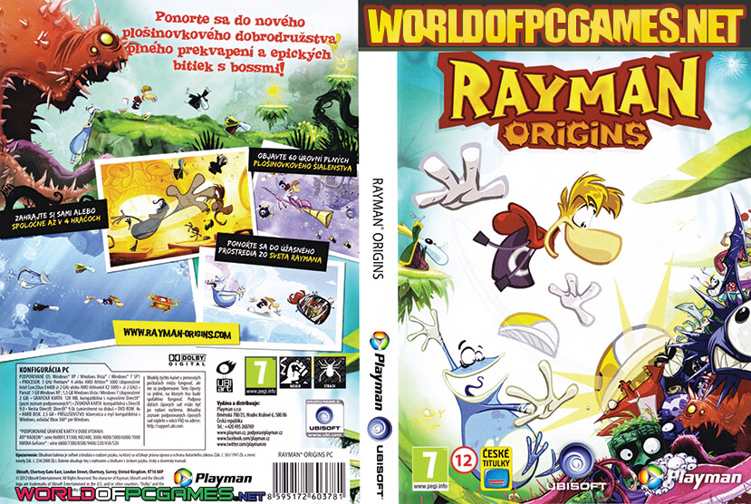 Rayman Origins Free Download PC Game By Worldofpcgames.net