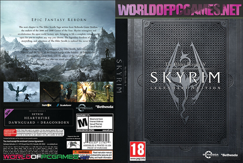 The Elder Scrolls V Skyrim Free Download PC Special Edition
