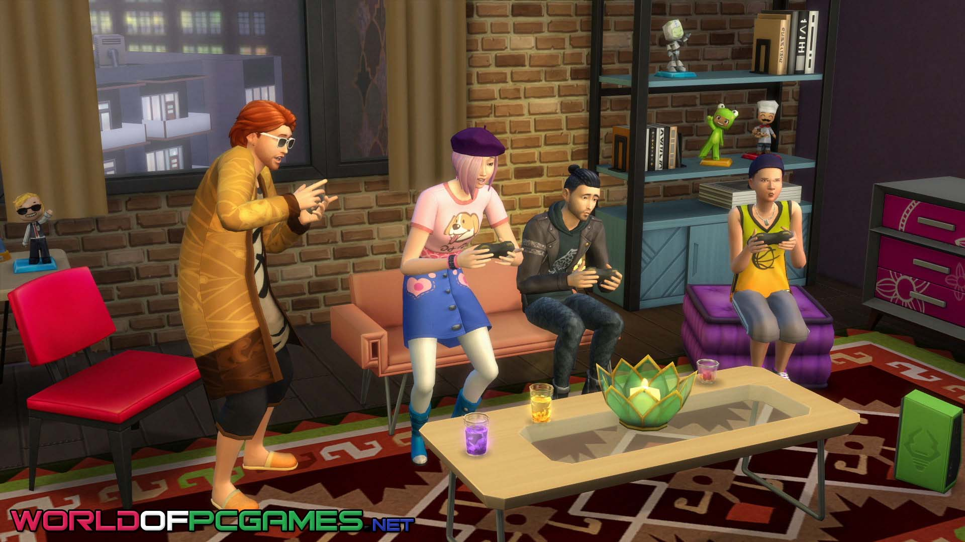 The SIMS 4 City Living Free Download By Worldofpcgames.net