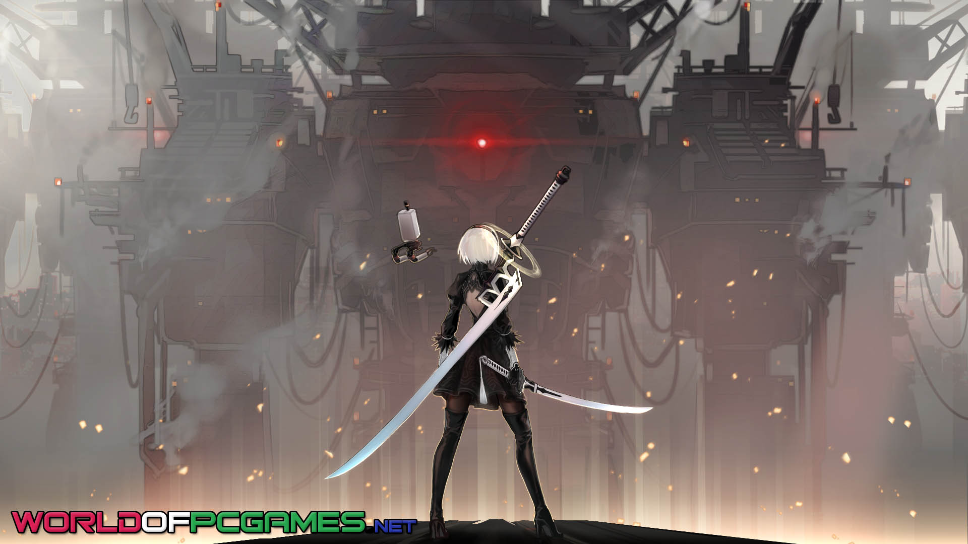 Nier Automata Repack With DLCs Free Download By Worldofpcgames.net