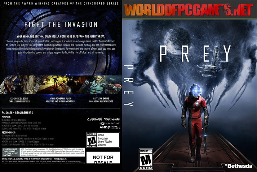 Prey 2017 Free Download Game Reloaded By Worldofpcgames