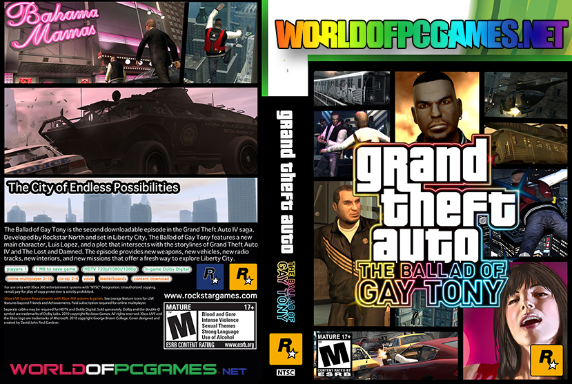 GTA The Ballad Of Gay Tony Free Download By Worldofpcgames.net