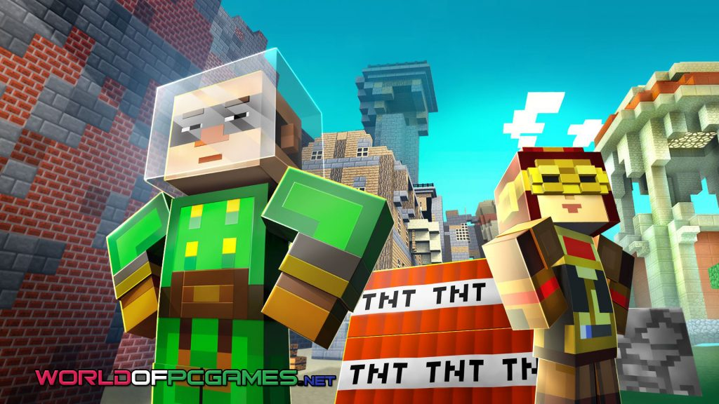 Minecraft Story Mode Season Two Free Download PC Game By Worldofpcgames.net