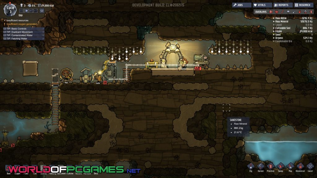 Oxygen Not Included Free Download PC Game By Worldofpcgames.net