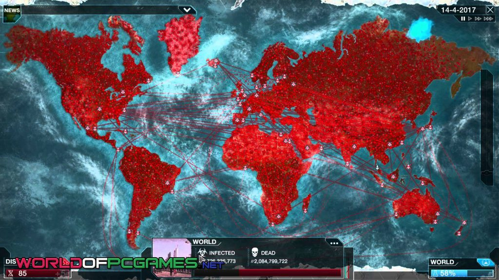 Plague Inc Evolved Free Download PC Gmae By Worldofpcgames.net
