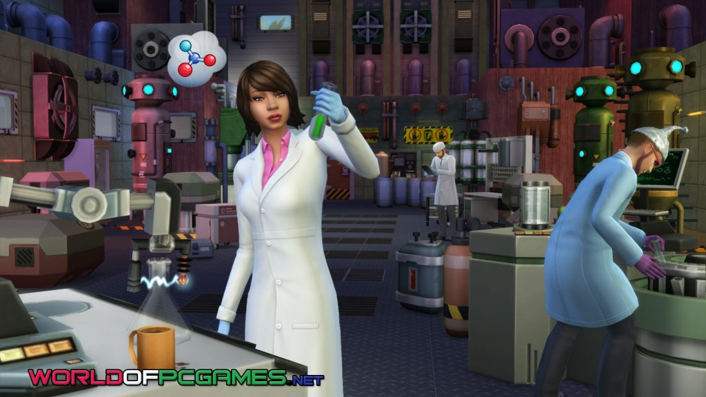 The Sims 4 Get To Work Free Download PC Game By Worldofpcgames.net